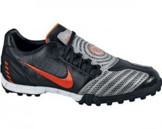 SHOOT II TF SOCCER SHOES 12.5 (BLACK/ORANGE BLAZE MET SILVER) Shoes
