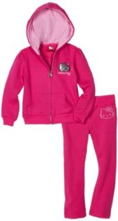 Hello Kitty Girls 2 6x Mini Sequined Fleece Active Set