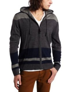 Unionbay Mens Long Sleeve Canyon Full Zip Sweater Hoody