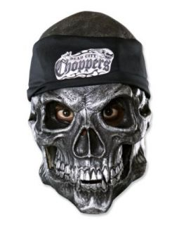 Road Rage 3/4 Vinyl Halloween Mask (B345) Clothing