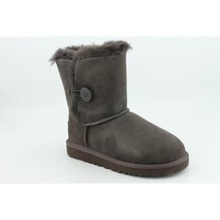 Ugg Australia Girls Bailey Button Regular Suede Boots