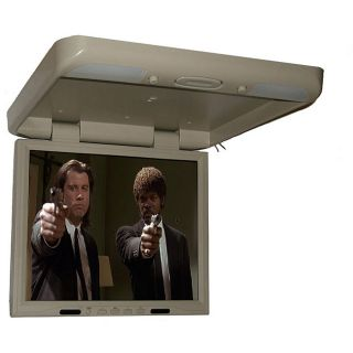 17.1 inch Roof Mounted Monitor with 1 DIN DVD Player
