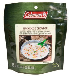 Coleman Dehydrated Backpack Camping Food Mackenzie Chowder
