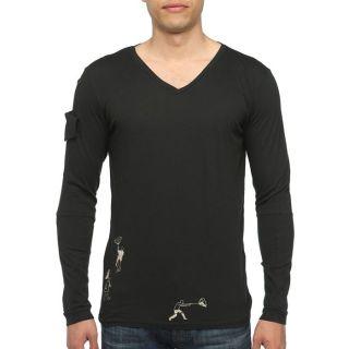 DIESEL T Shirt Well Homme Noir   Achat / Vente T SHIRT DIESEL T Shirt