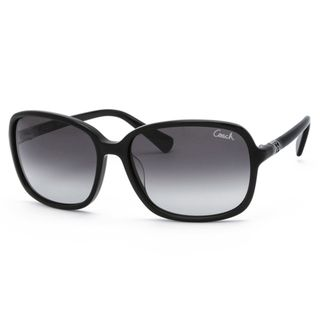 Coach Womens Black Fashion Sunglasses