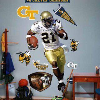 Georgia Tech Yellow Jackets Calvin Johnson Jr.   Georgia