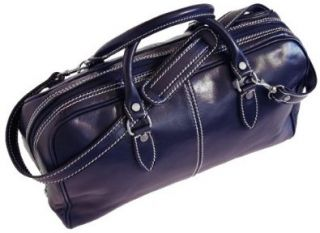 Venezia Mini in Blu Leather   unisex handbag, purse, luggage Shoes