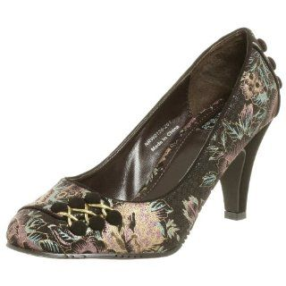 Not Rated Womens Crown Royal Pump,Chocolate,9.5 M Shoes