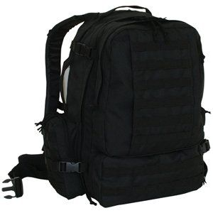 Black Advanced 3 Day Combat Pack   22 x 16 x 12, MOLLE