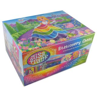 Lisa Frank Princess Stationery Chest