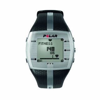 Polar FT7 Mens Heart Rate Monitor Watch (Black / Silver