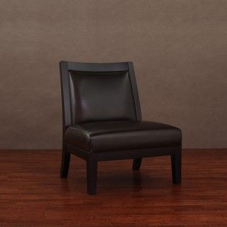 Connor Dark Brown Leather Chair