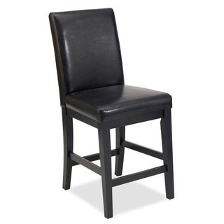 Home Styles Nantucket Distressed Black Bar Stool
