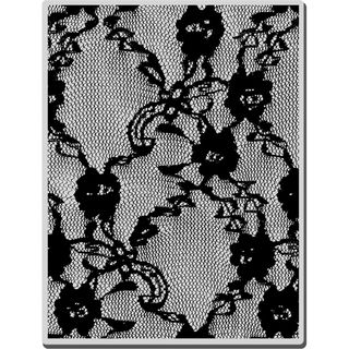 Stampendous Halloween Cling Rubber Stamp Lacey Background