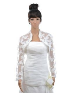 Artwedding Wedding Evening Casual Formal Long Sleeves Lace