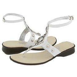 Onex Nile White/Silver Sandals