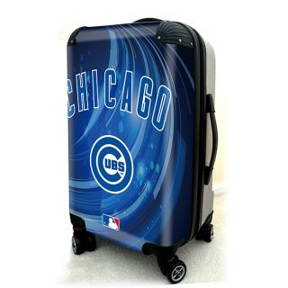Chicago Cubs 20 inch Expandable Hardside Spinner Carry on Upright