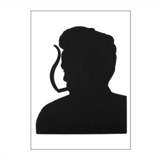 pré découpé  Modèle  James Dean  Dimensions plaque  48 x 68