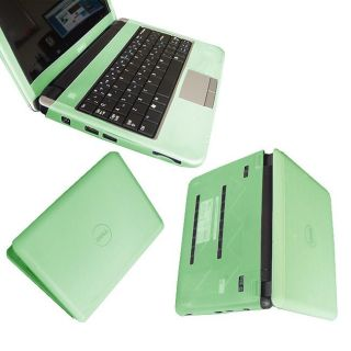 SKQUE Dell Inspiron Mini 9 Laptop Green Silicone Skin Case