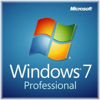 Windows 7 Pro SP1 OEM 64 bit   1 poste   Windows 7 Professional w/SP1