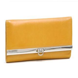 Dasein Yellow Tri fold Wallet