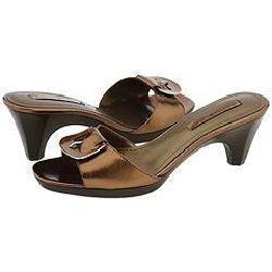 Bandolino Ryland Bronze Leather Sandals