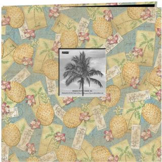 Tropical Frame 20 page 12x12 Memory Album