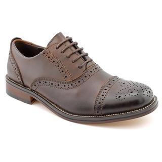 Steve Madden Mens Eddee Leather Dress Shoes