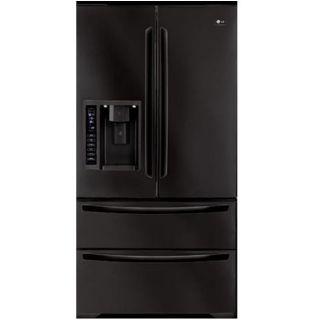 LG 25 cubic feet Black French Door Refrigerator