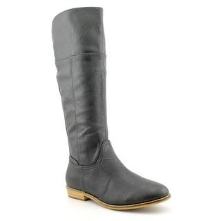 Volatile Womens Eastwood Faux Leather Boots