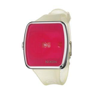 Nixon Womens The Iris Stainless Steel Pink Dial Quartz Watch