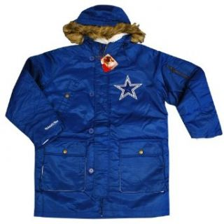 Dallas Cowboys Mitchell & Ness Snorkel Parka: Clothing