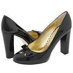 Juicy Couture Savannah Black Patent Pumps/Heels