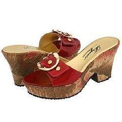 Dezario Yara Red Patent Sandals