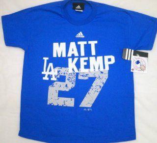 MLB Adidas L.A. Dodgers Matt Kemp Youth T Shirt Large