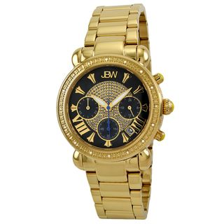JBW Womens Victory Goldtone Diamond Watch