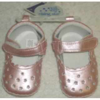Star Baby Toddler Girl Shoes Size 9   12 months, Shoe Size 3, Pink