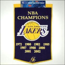 Los Angeles Lakers National Championship Banner