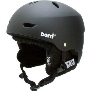 Bern Brighton Knit Liner Hard Hat, Matte Black Sports