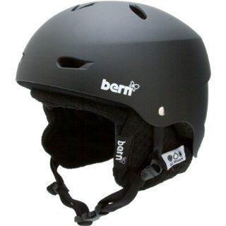 Bern Brighton Knit Liner Hard Hat, Matte Black Sports
