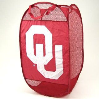 OKLAHOMA SOONERS NCAA PORTABLE POP UP LAUNDRY HAMPER OU