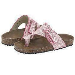 Little Laundry Kids Jolyne (Toddler/Youth) Pink Cracked Suede