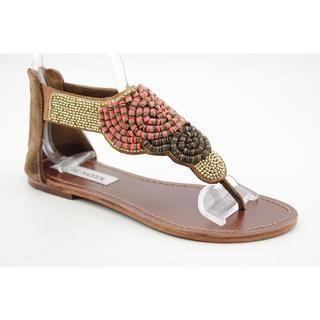 Steve Madden Womens Pharroh Basic Textile Sandals
