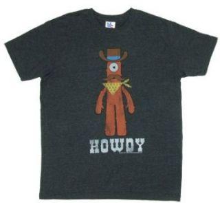 Howdy   Yo Gabba Gabba   Junk Food Mens T shirt Adult
