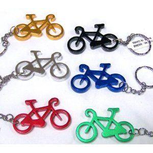 Bicycle Key Chain & Bottle Opener   Dozen Sports
