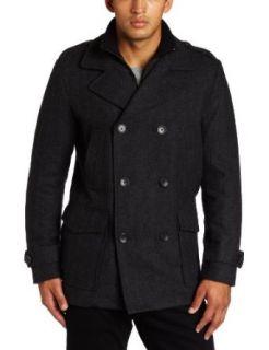 Calvin Klein Sportswear Mens Wool Coat Clothing