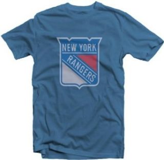 New York Rangers Classic Logo T Shirt by Red Jacket