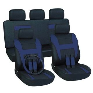 Blue 16 piece Car Seat Cover Set