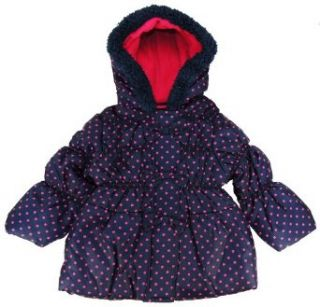 Pink Platinum   Toddler Girl Navy Blue Dots & Bow Bubble