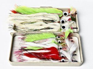 Supreme Squid Fly Box for Big Game